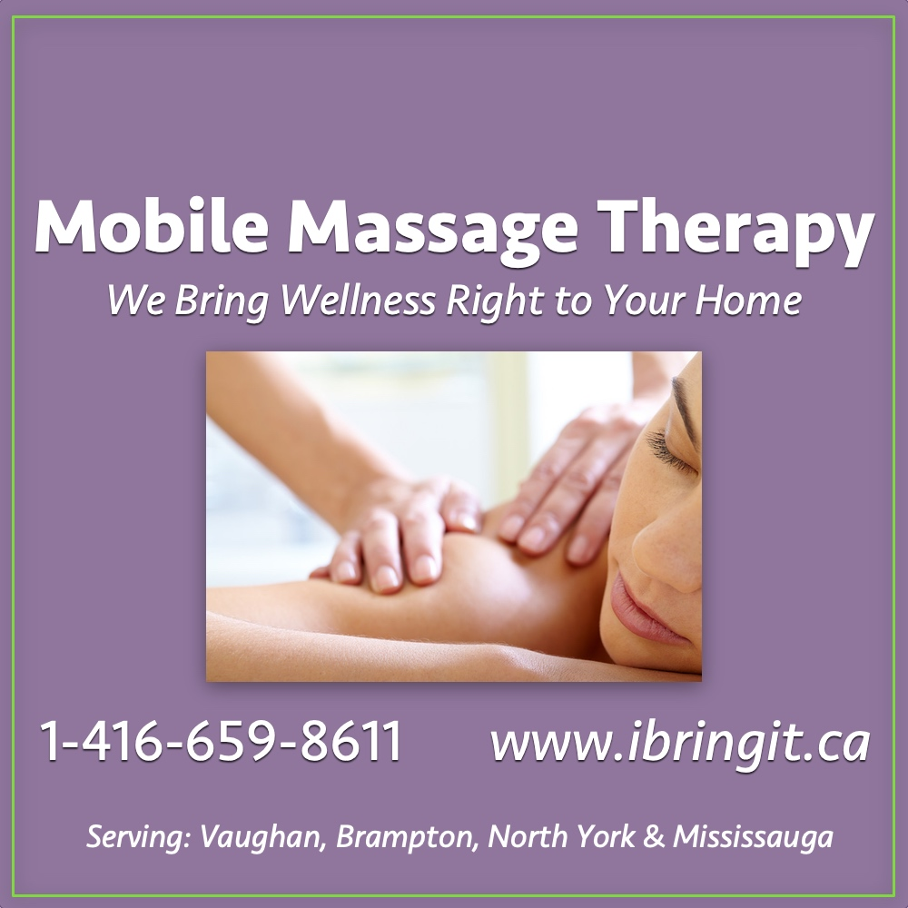 Mobile Massage Therapy Brampton